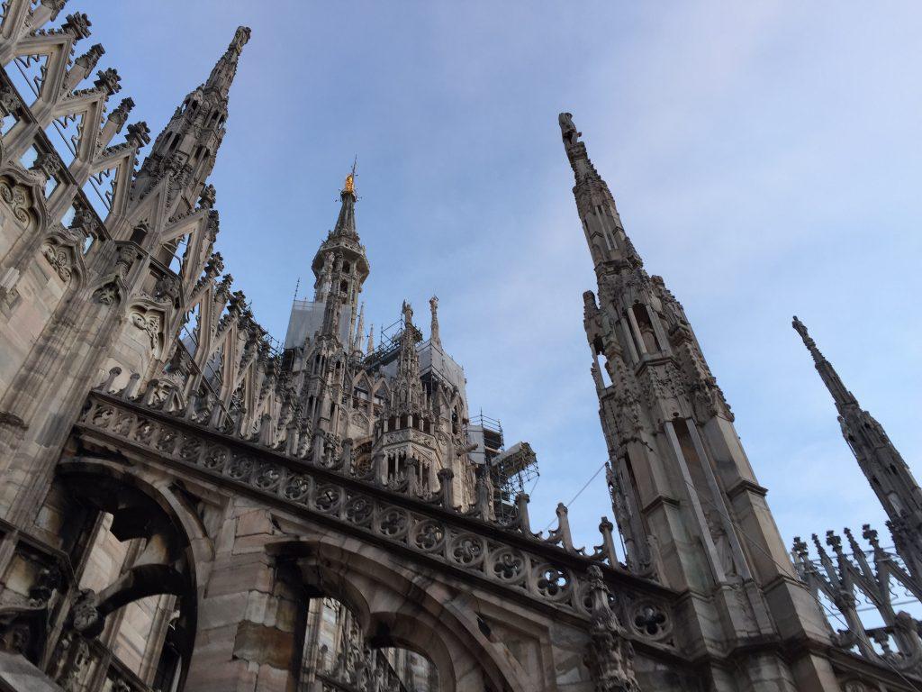 Two Days in Milan London Lamppost