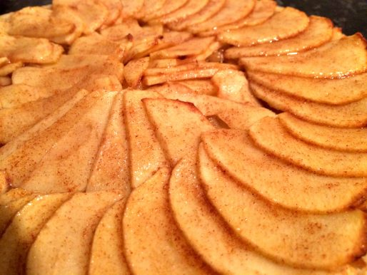 Apple and Cinnamon Tart