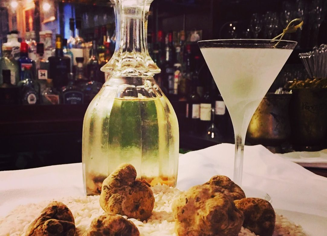 Dukes' White Truffle Martini