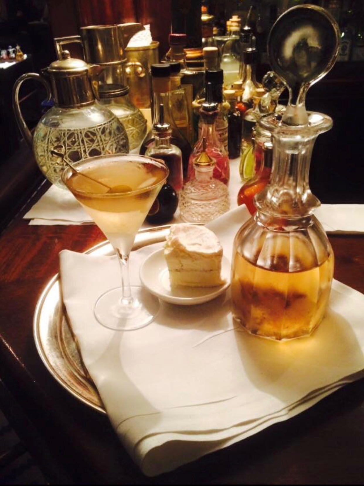 Dukes' White Truffle Martini London Lamppost