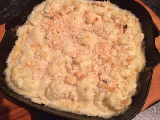 Truffled Cauliflower Cheese