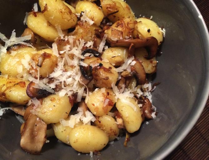 Twice Cooked Mushroom Gnocchi