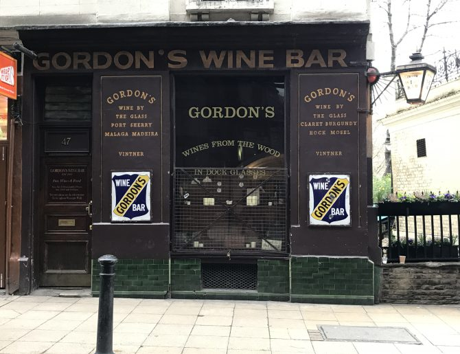 Gordon's Wine Bar