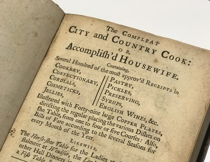 New Year's Resolution - Self Improvement (18th Century Style)